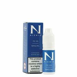 Nic Nic 18mg 70VG-30PG 10ml Nicotine Shot 10ml x 10 Bottles Flavourless