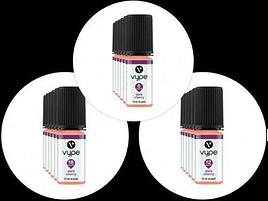 3x Vype 10ml E-Liquid Dark Cherry 6mg 12mg or 18mg 50-50 Blend