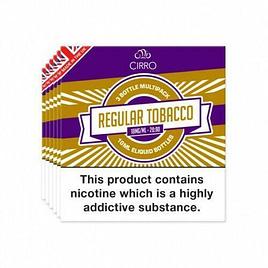Regular Tobacco 18MG | 3 IN 1 PACK | VAPE LIQUID | E-LIQUID | 3X 10ML PACK