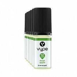 3x Vype Fresh Apple 10ml E Liquid 6mg or 12mg 50-50 Blend