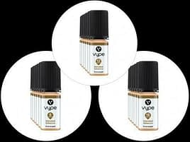 3x Vype 10ml Eliquid Blended Tobacco 6mg 12mg or 18mg 50-50 Blend