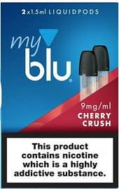 My Blu Liquid Pods 5 Packs of 2 – Special Offer Limited Stock Cherry Crush 9mg
