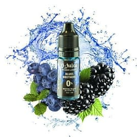 V JUICE BLUES BROS 50-50 E-LIQUID 12mg Mouth to Lung Juice