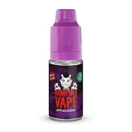 Applelicious – 10ml Vampire Vape E-Liquid 3mg 6mg 12mg 18mg