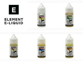 Element Emulsions Concentrates 30ml for DIY Mixing All 5 Amazing Flavours