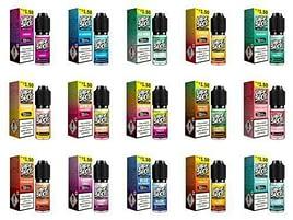 Vapespot Eliquid 50-50 VG-PG 15 Flavours 6mg and 12mg 10 x 10ml Bottles