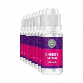 Cirro E-Liquid Cherry Bomb 10ml 11mg Special offer 10ml x 10 bottles shorted dated