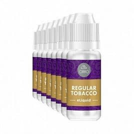 Cirro E-Liquid Regular Tobacco 10ml x 4 bottles – 80-20 pg-vg 18mg