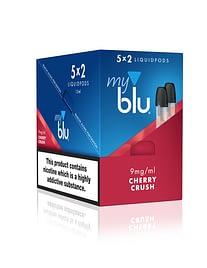 myblu™ Cherry Crush Liquidpod 9mg Outer Special Offer