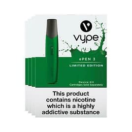 Vype ePen 3 Starter Kit – Limited Edition Device Only No Pods Included – Green