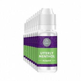 Cirro E-Liquid Utterly Menthol 10ml x 4 bottles – 50-50 pg-vg 18mg