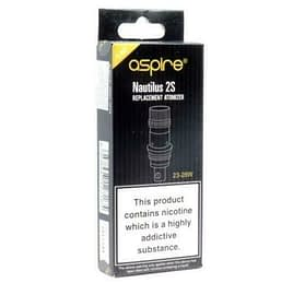 ASPIRE NAUTILUS 2S 0.4Ω COILS (5 pk) Recommended Wattage 23W-28W